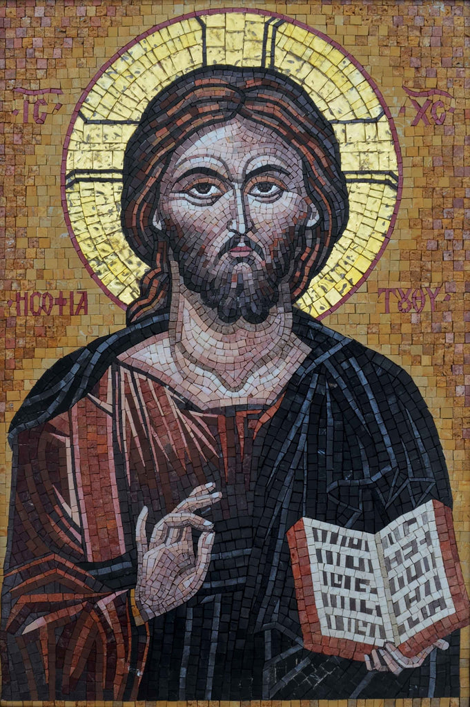 Mosaic Icon: Jesus Messiah