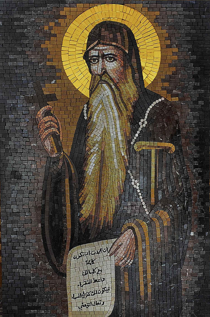 Mosaic Art - Saint Anthony The Great