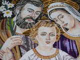 The Holy Family - Mosaic Artwork