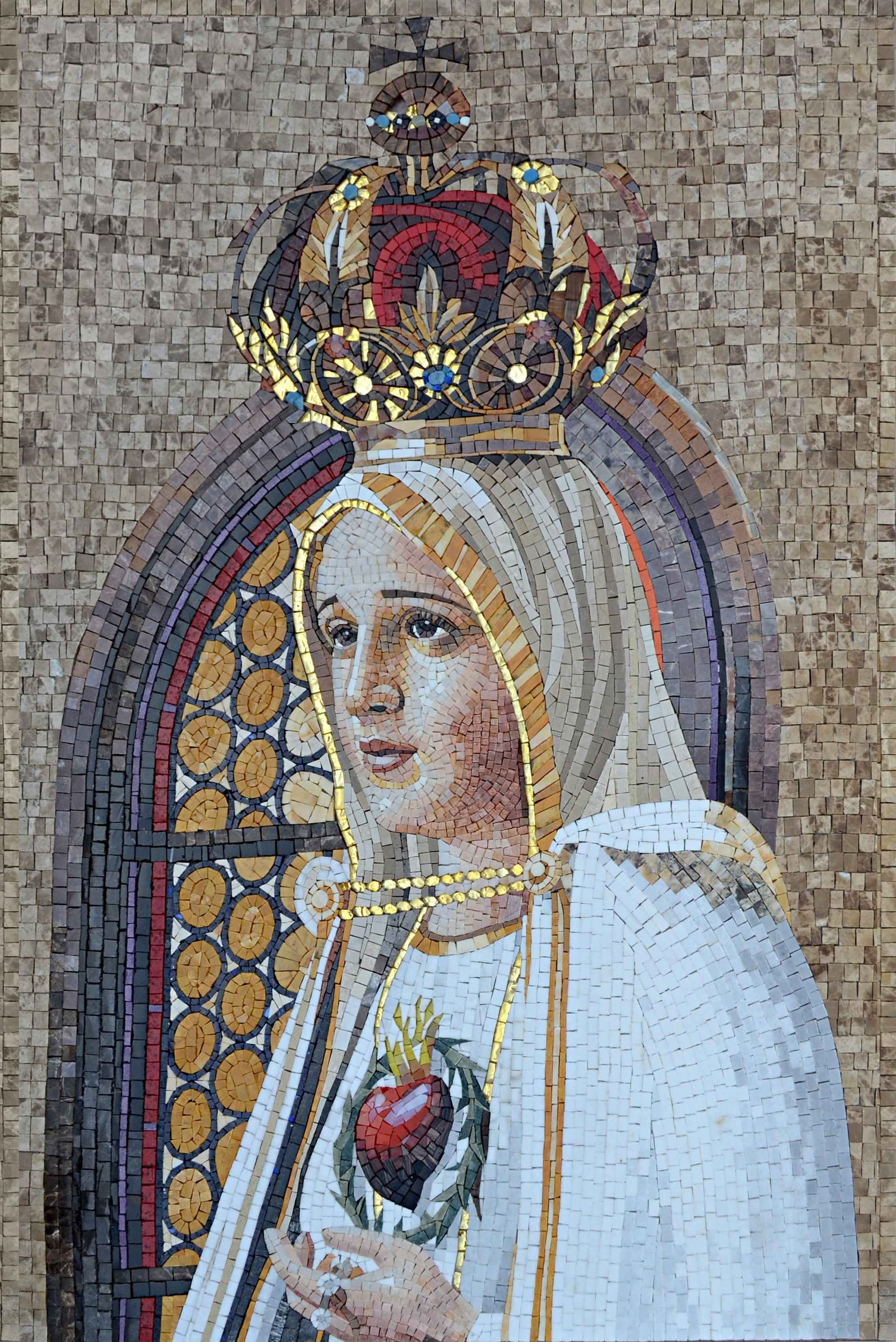 Madonna Central Mosaic Icons Pic
