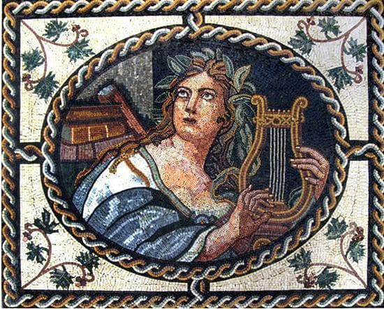 Apollo - Roman Mosaic Designs