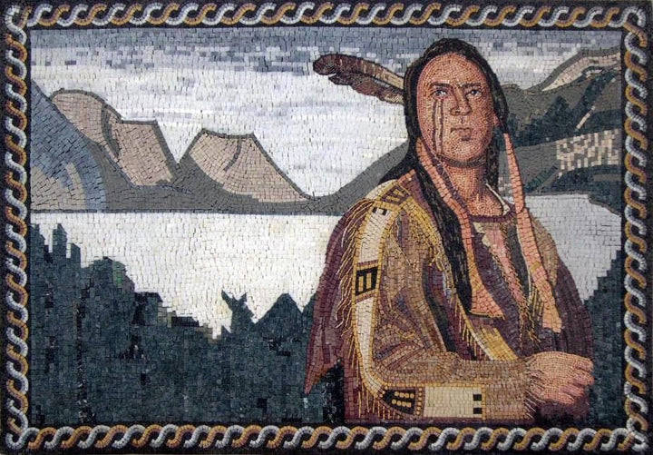 Mosaic Art - Native American