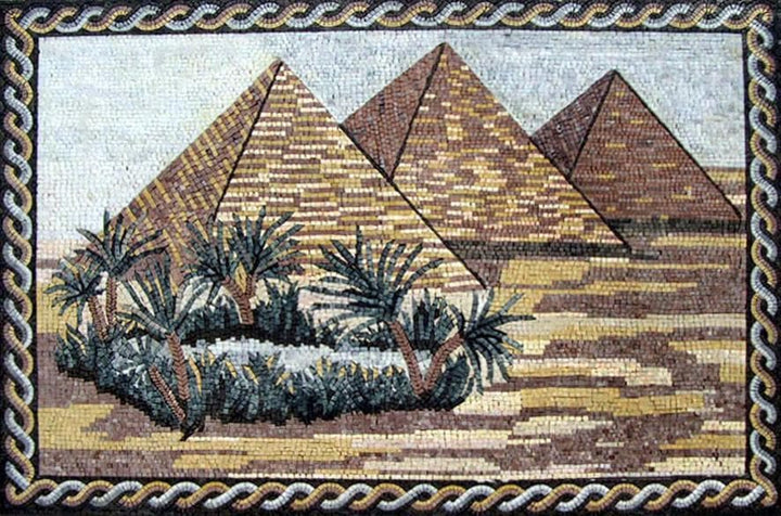 Egyptian Marble Mosaic Art