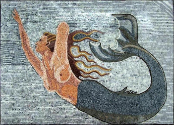 Mermaid Mosaic Art