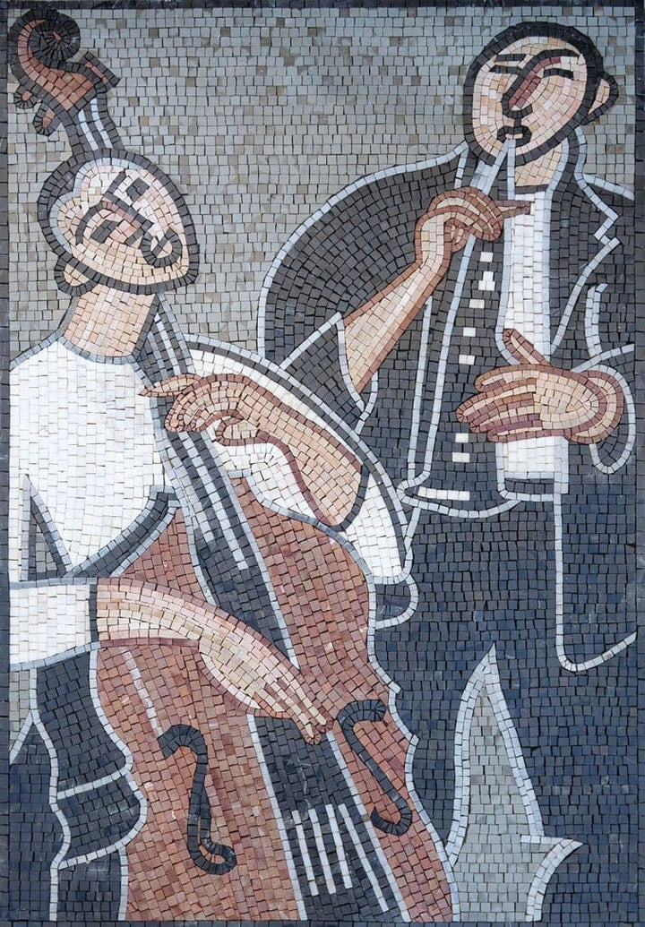 Mosaic Art for Sale- Instrumentalist