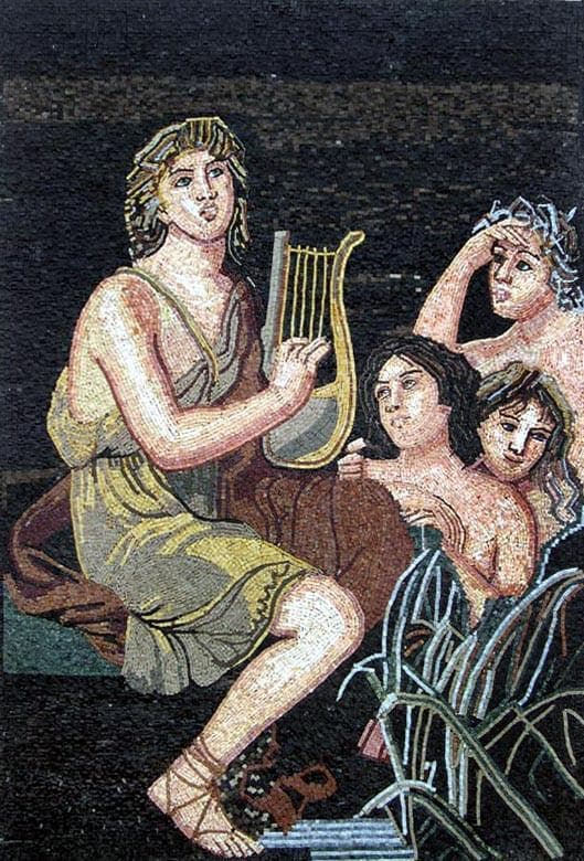 Figurative and Musical Mosaic