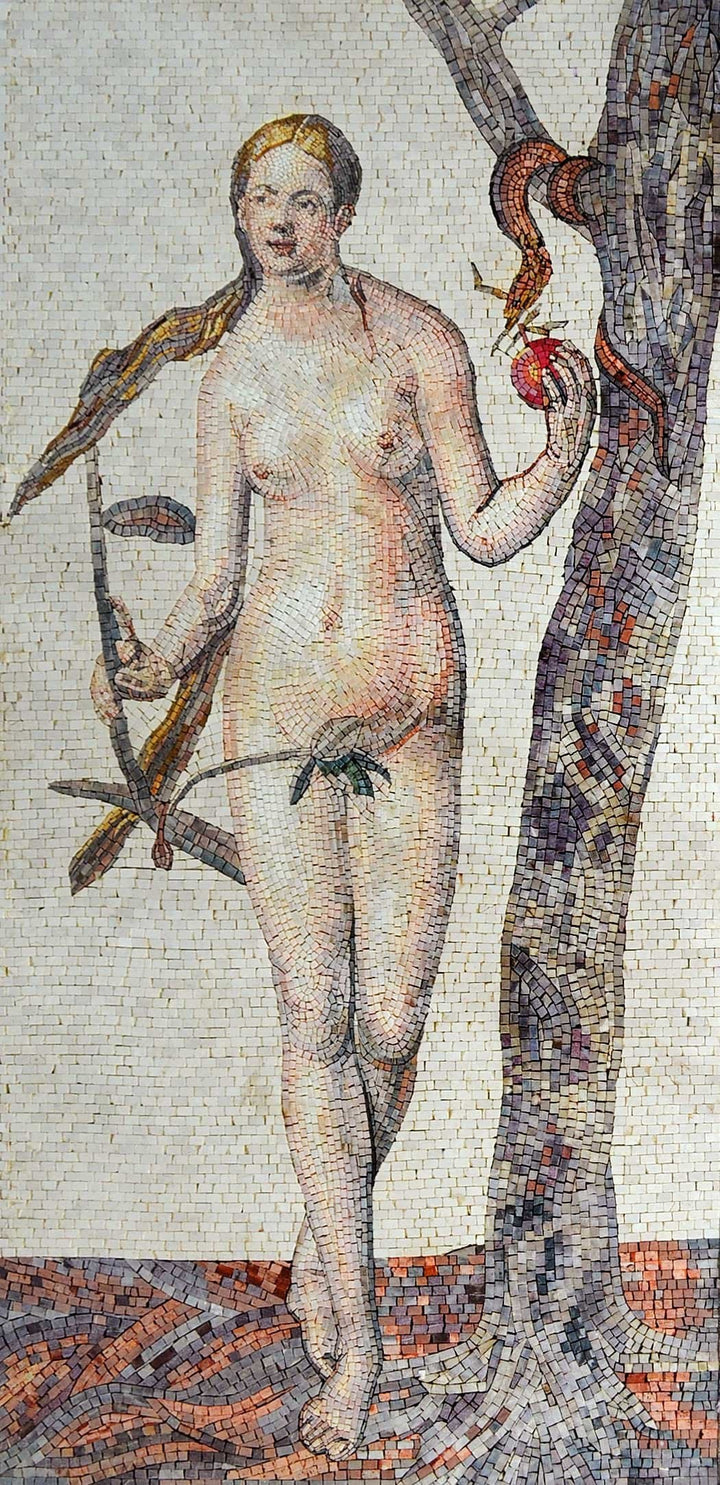 Mosaic Art - Eve From The Book of Genesis