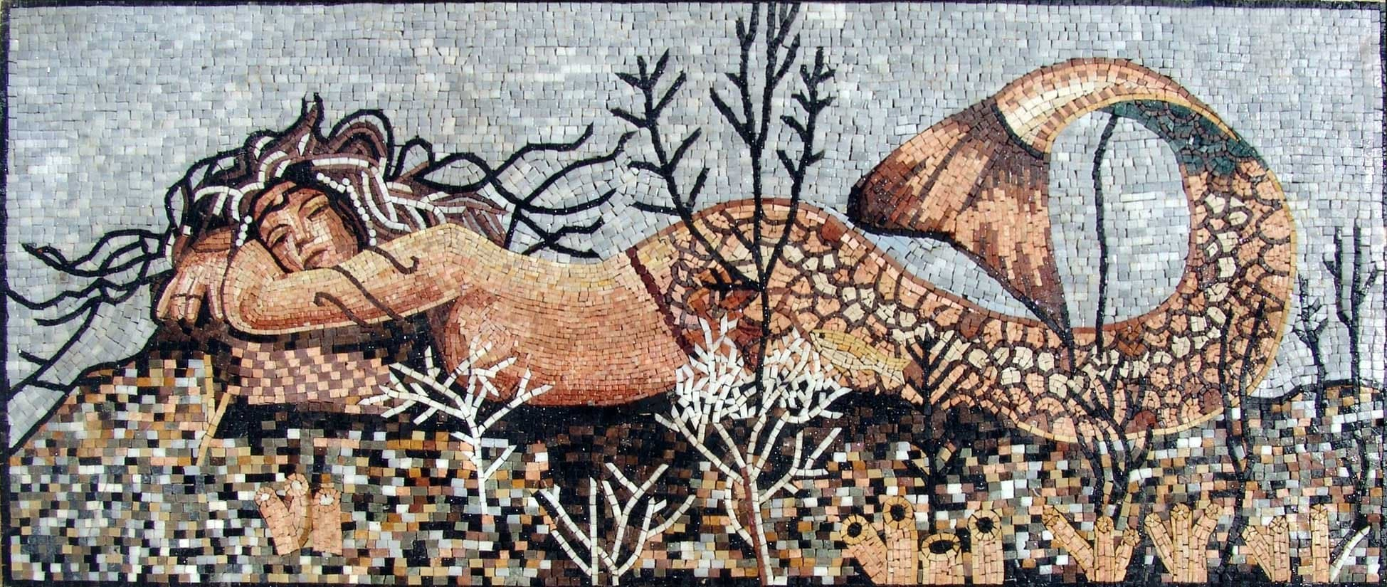 Charming Mermaid Mosaic Pic