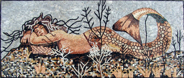 Charming Mermaid Mosaic