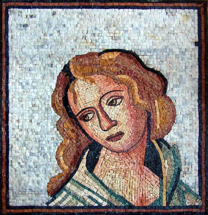 "Michelangelo Madonna of Bruges"" - Mosaic Reproduction"""