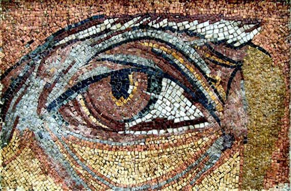 Mosaic Art Reproductions - Oceanus Eye