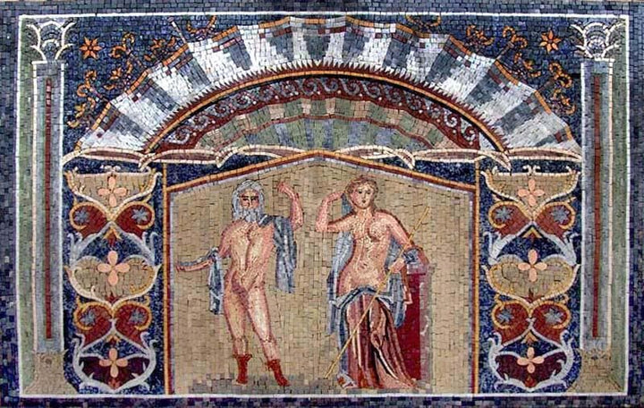 Stone Mosaic Art In Ancient Times