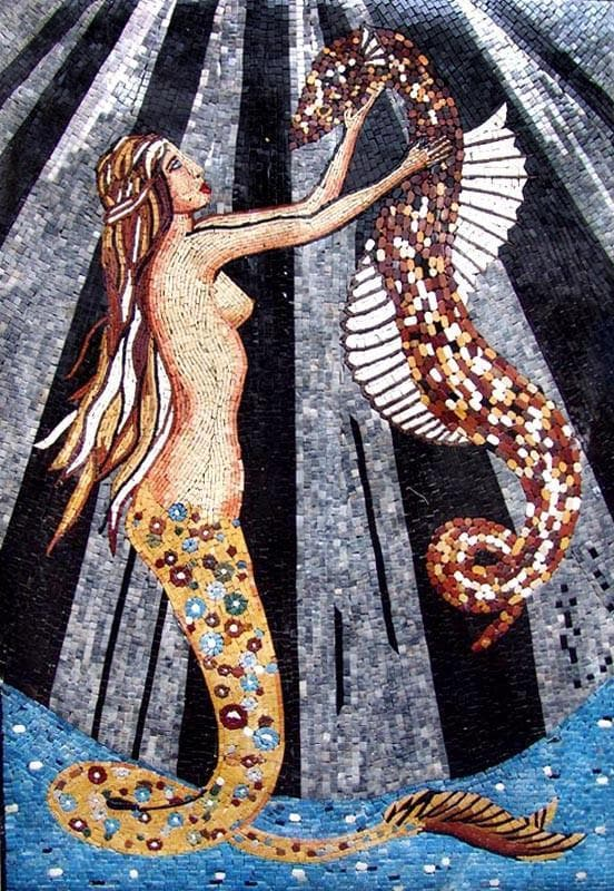 Mermaid Mosaic Art Pic