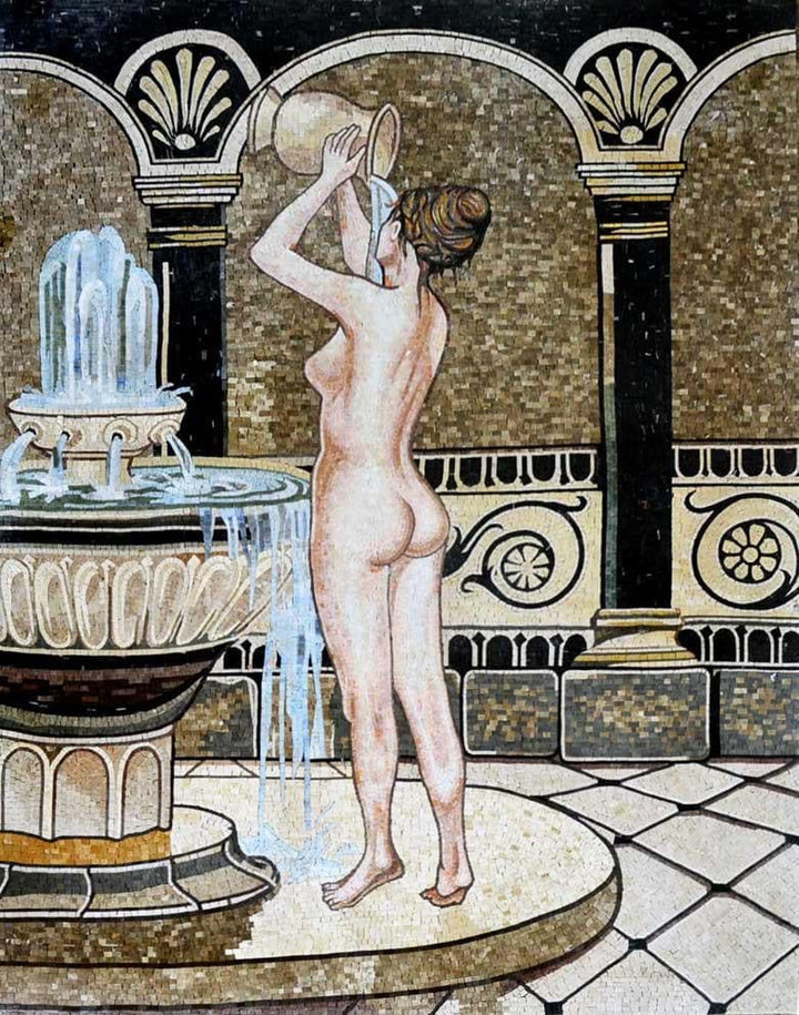 "John Reinhard  Bath"" - Mosaic Reproduction """