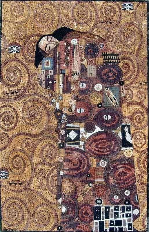 "Mosaic Art - Hope"" Gustav Klimt """