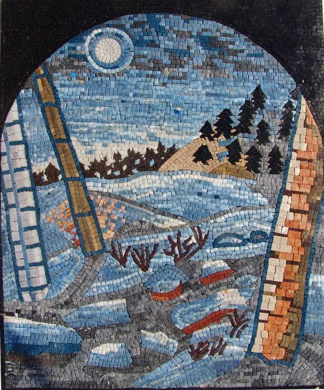 Night Scene Mosaic