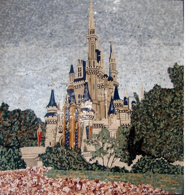 Cinderella Castle Mosaic Artwork