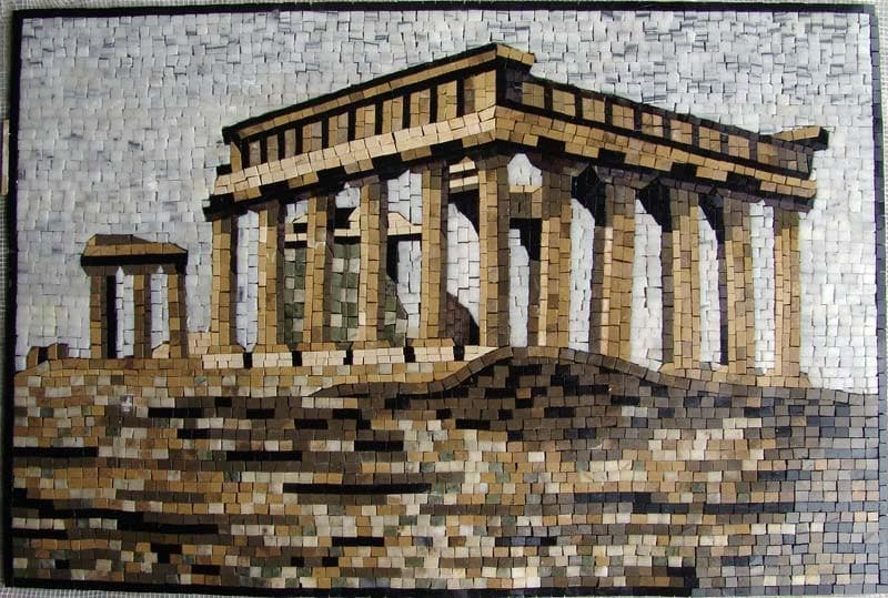 Greek Ruin Mosaic