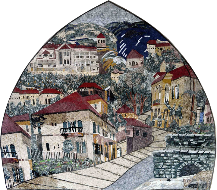 Mosaic Designs - Ancient Neighborhood