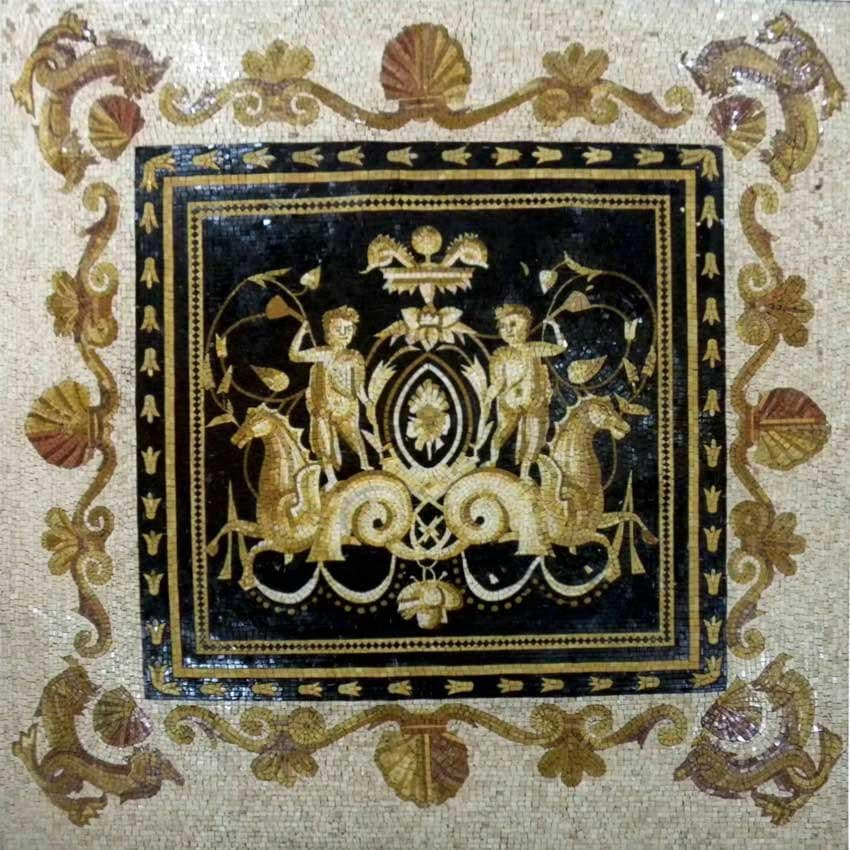 Mosaic Designs The Versace Chariots Pic