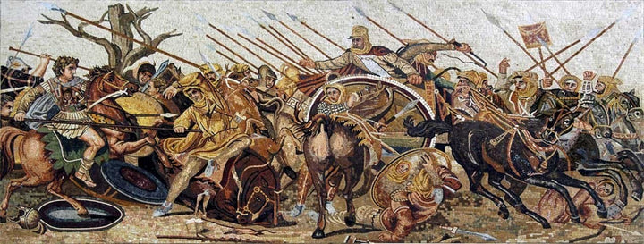 Alexander Battle Mosaic