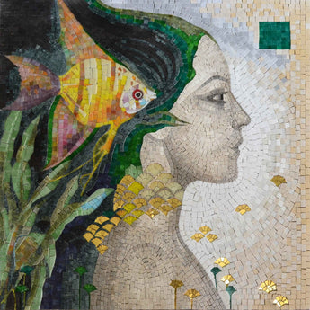 "Felix Mas Realms of Beauty"" - Mosaic Art Reproduction """