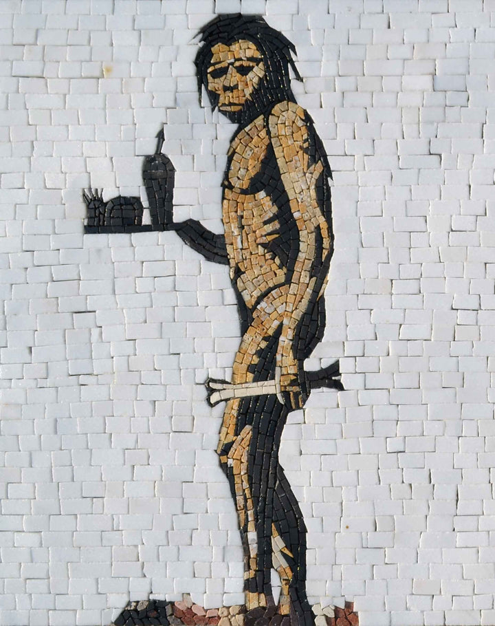 Banky Mosaic Reproduction - Apeman