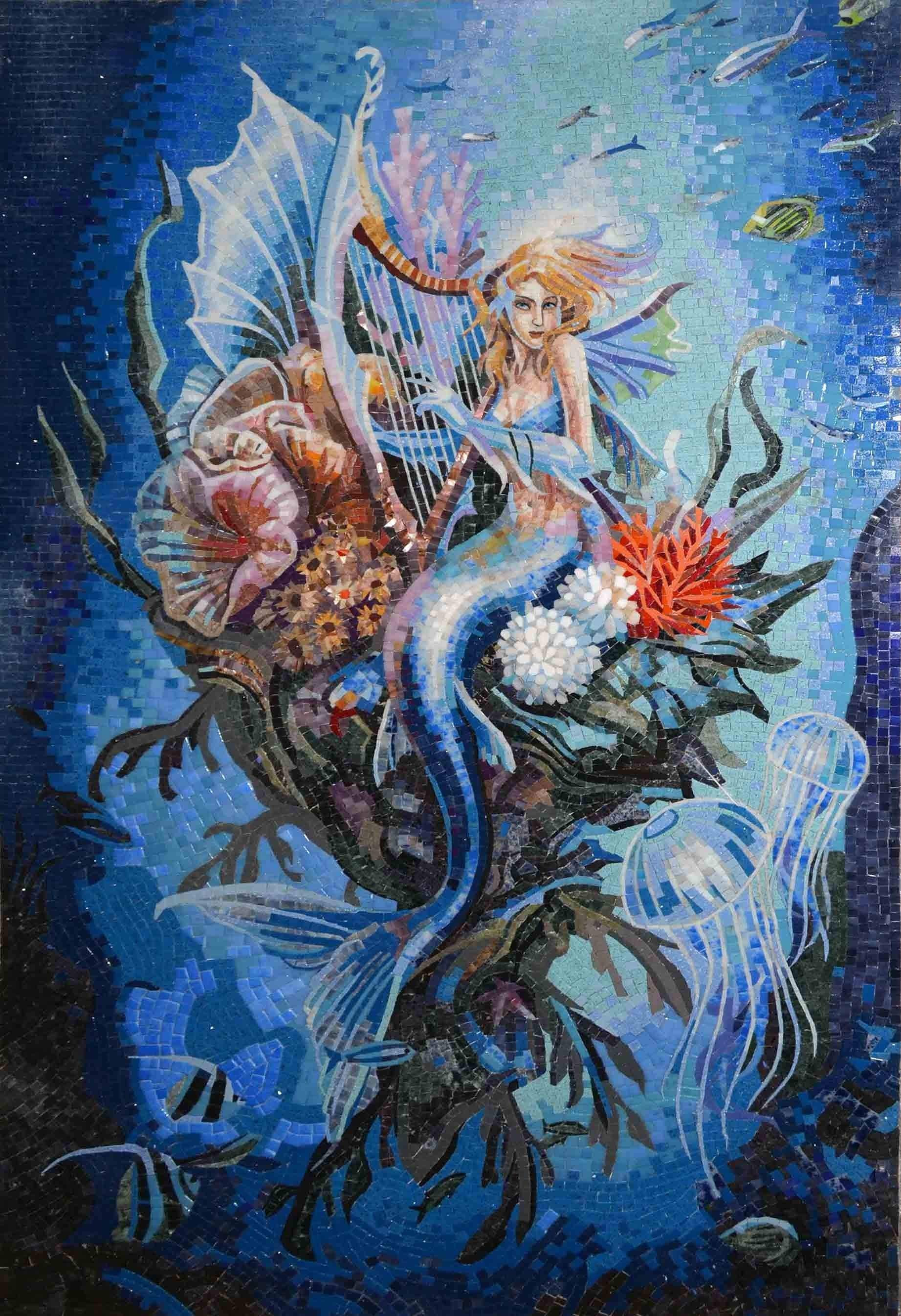 Mosaic Designs Mermaid Lullaby Pic