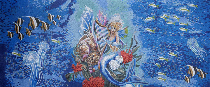 Mosaic Designs - Mermaid Lullaby III