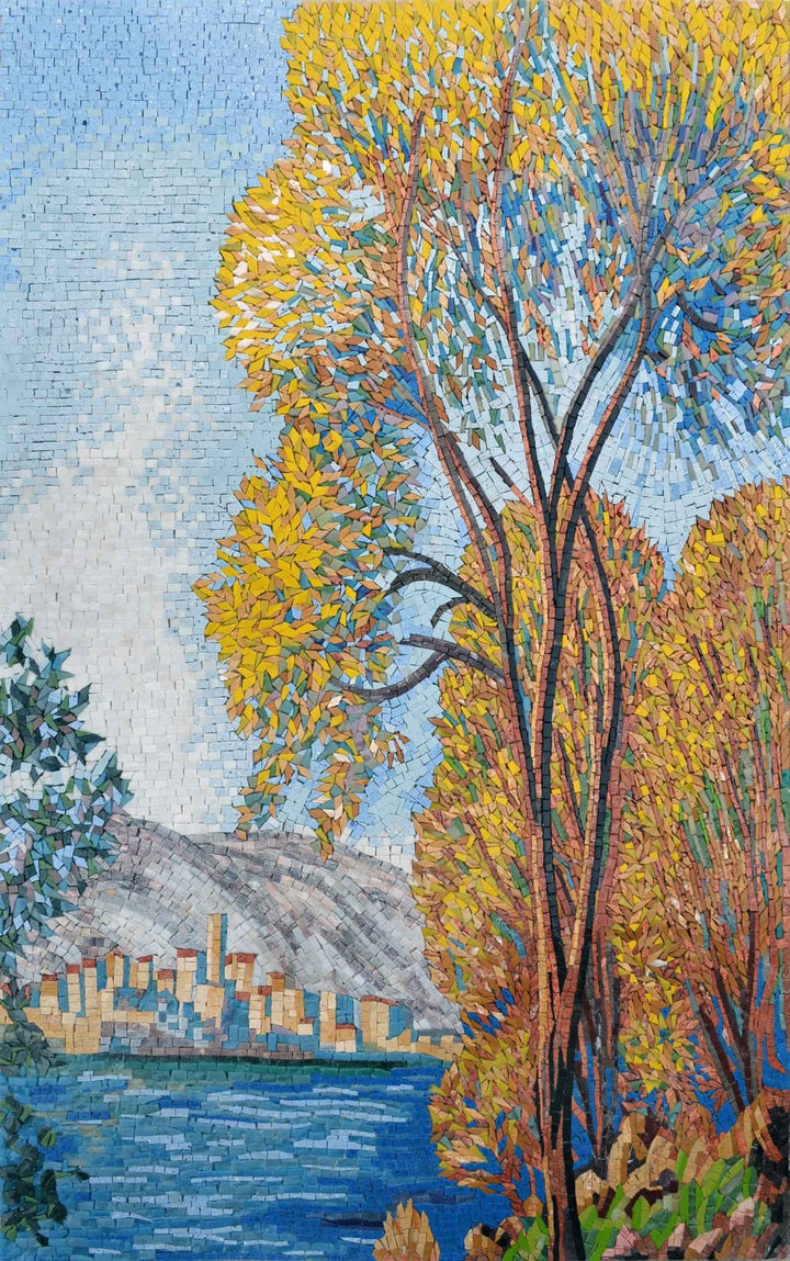 Mosaic Art - Le Village