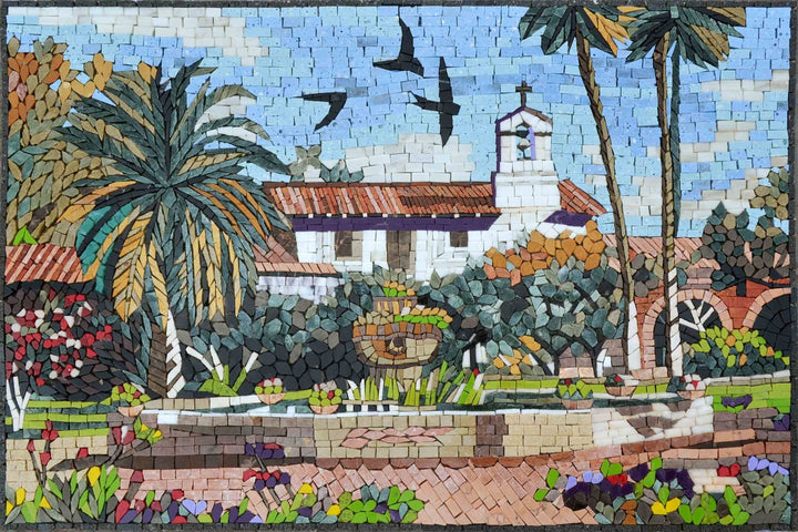 Mosaic Art -The  North