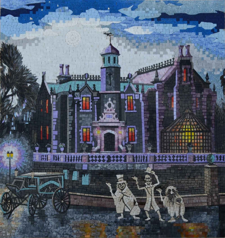 Mosaic Designs - Halloween Village