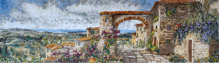 Mosaic Artwork -Amalfi Coast