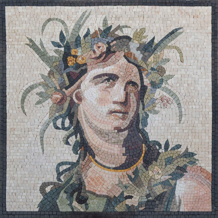 Greek God Mosaic