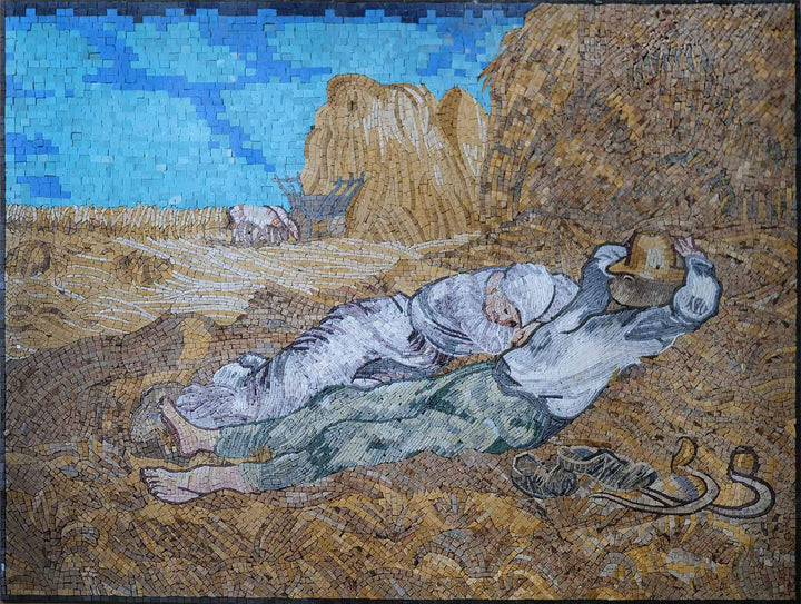 The Siesta Reproduction - Mosaic Art