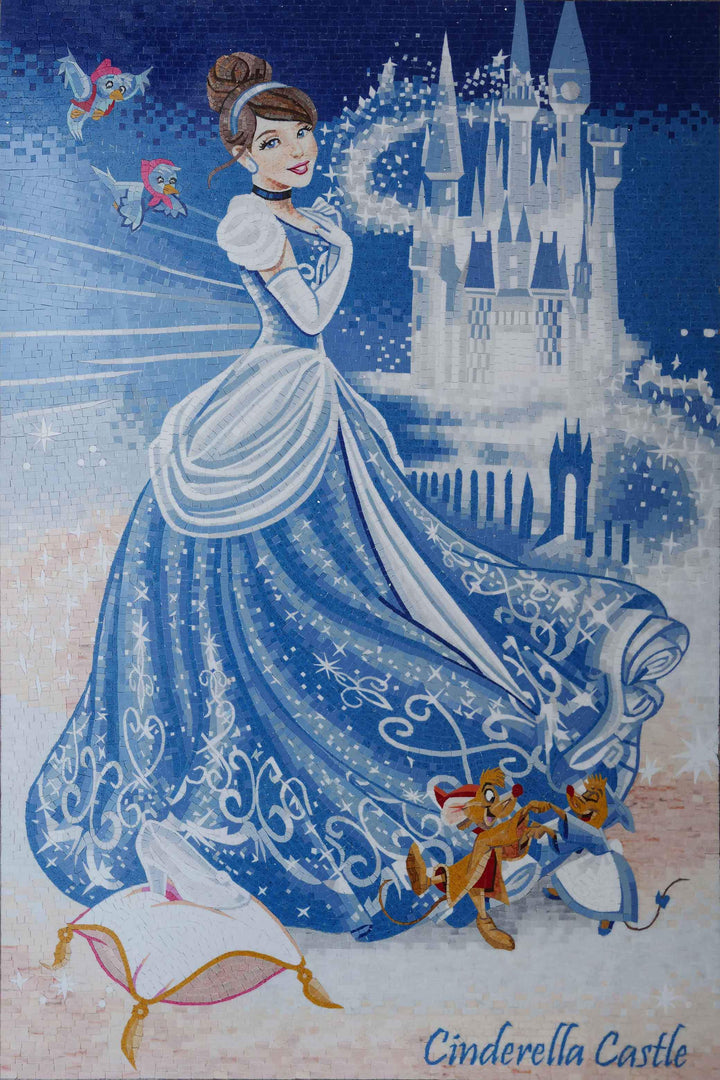 Customized Disney Mosaic - Cinderella's Fairytale