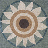 Mosaic Patterns - Ochre Sunflower II