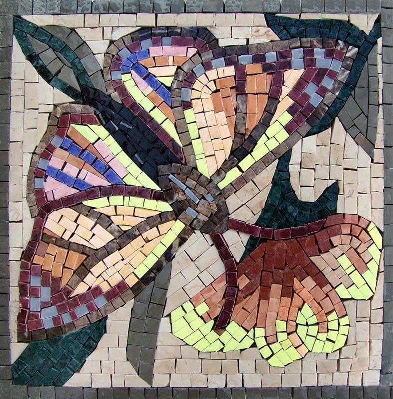Visionary Mosaic Art - The Butter-filled