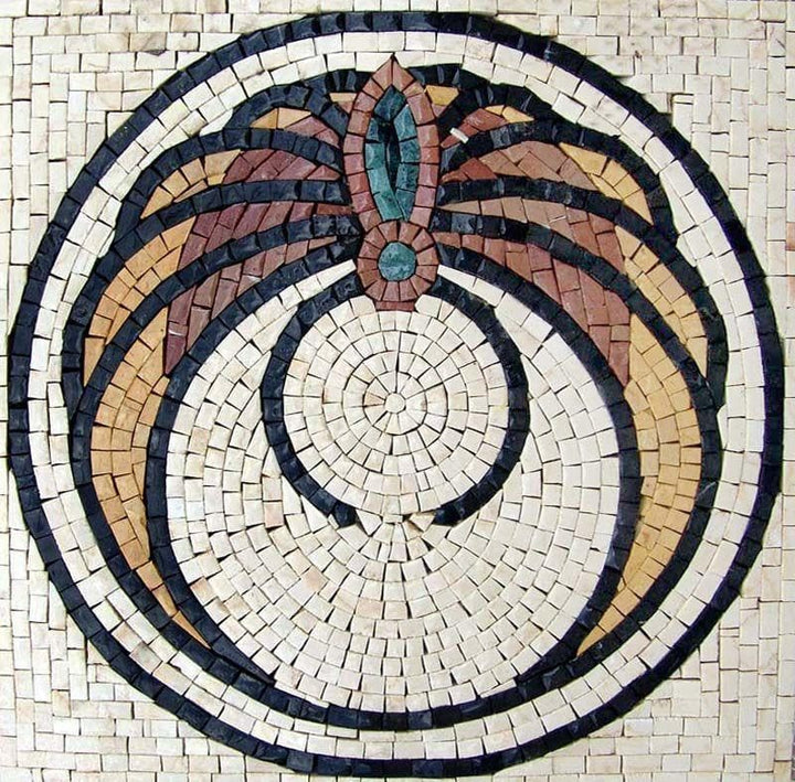 Mosaic Art - Geometrical Butterfly