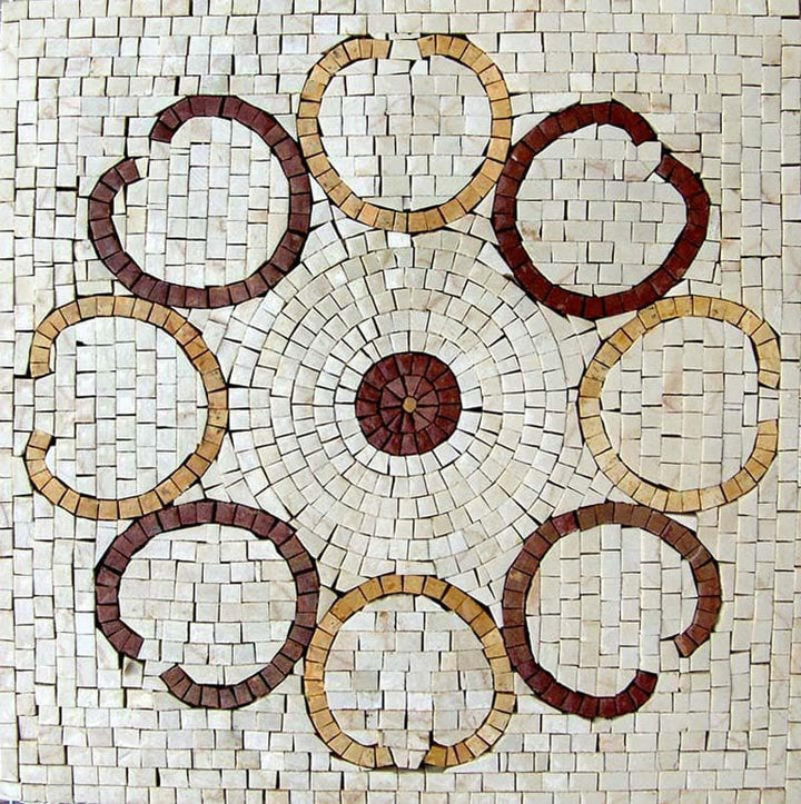 Mosaic Accent Artwork - Macedonia