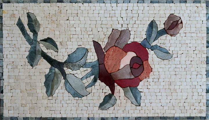 Mosaic Art - Tulip flower