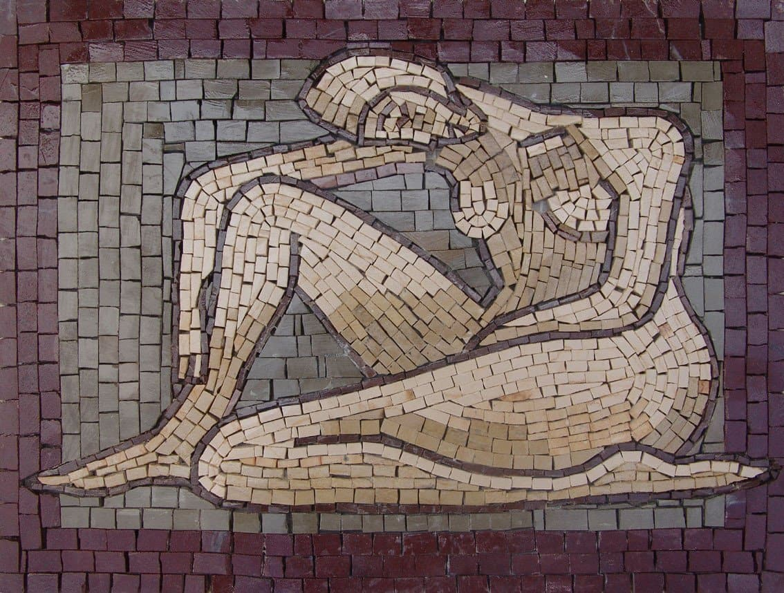 Art Mosaic Nude Accent