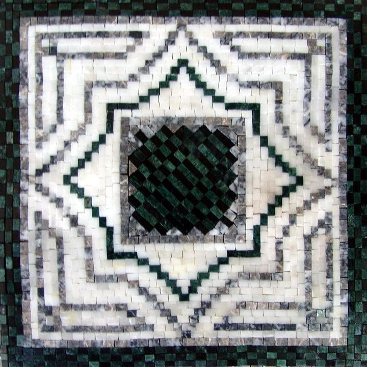 Decorative Mosaic Square - Estella