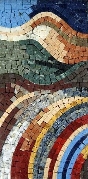 Marble Mosaic Shades Of Color Pic