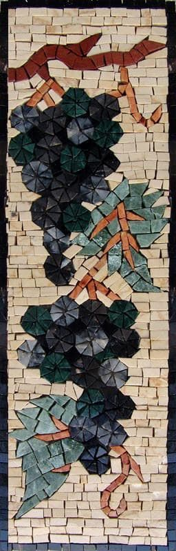 Mosaic Patterns- Nero Vine