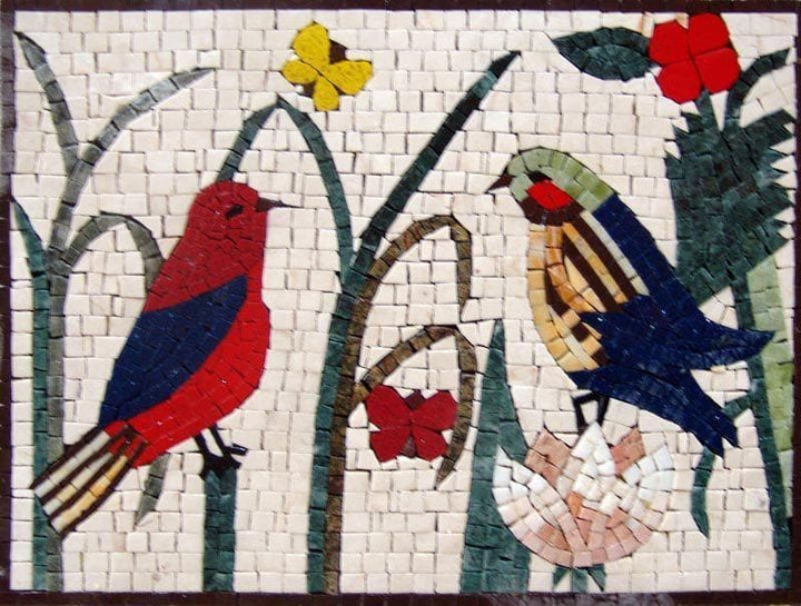 Mosaic Designs - Love Birds