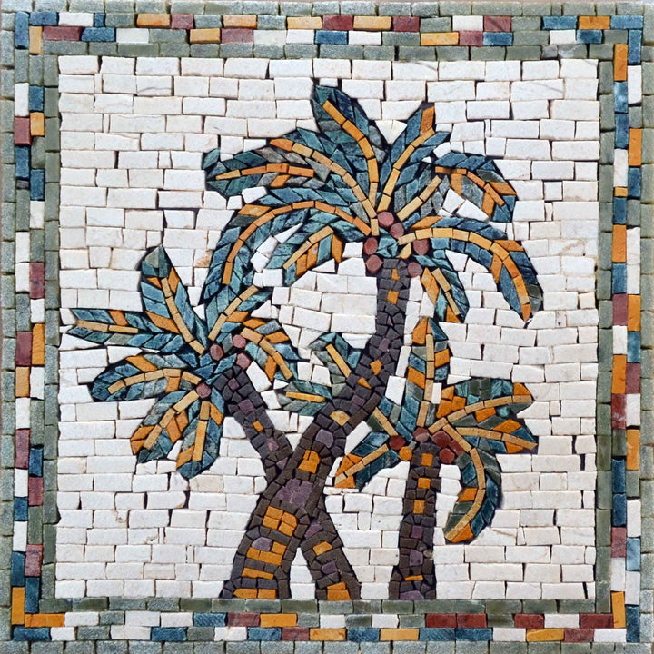Mosaic Designs - Desert Palm