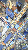 Busy Roads - City Mosaic