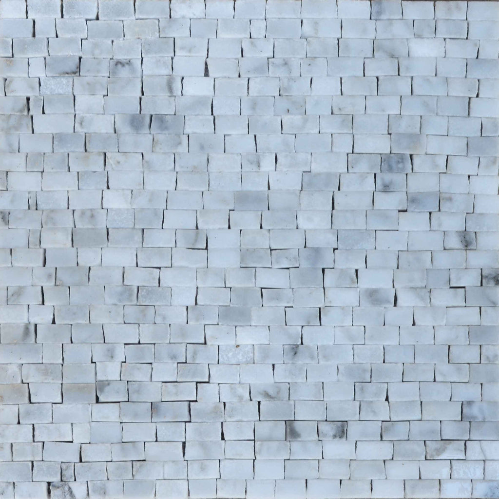 Marble Mosaic Sheet - Cristalino Medium