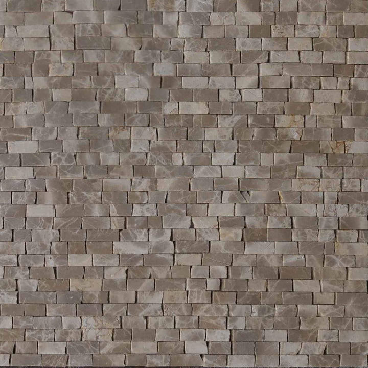 Mosaic Marble Sheet - Light Emperador